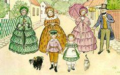 Elsa Beskow – Swedish) Peter And Lotta Elsa Beskow, Children Of The Forest, Children's Book Illustration, Book Illustrations, Fantasy, Altered Art, Alice In Wonderland, In This World, Caricature