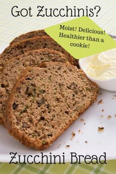 What to do with all the zucchinis that grow in your garden!! Moist and full of flavor, this is the BEST zucchini bread ever and perfect for the lunch box or breakfast before school