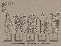 prim christmas stitchery