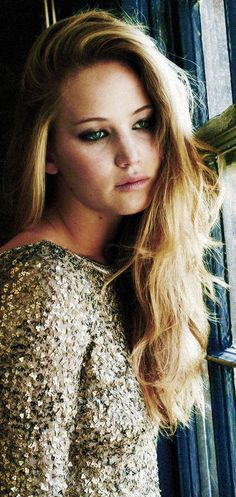 Jennifer Lawrence ♥ The Queen! I'm going to make a board dedicated just to Jennifer Lawrence.