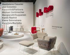 MERANO #loungechair #design by Raffaella Mangiarotti & Ilkka Suppanen, 2017, at the #SalonedelMobile2018 in #Milan.