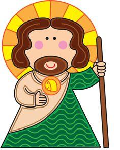 San Judas Tadeo my santito y protector en todo momento esta conmigo gracias