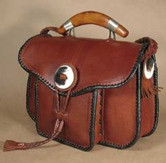 Handmade Leather Bag by Four Winds West - #CowgirlChic