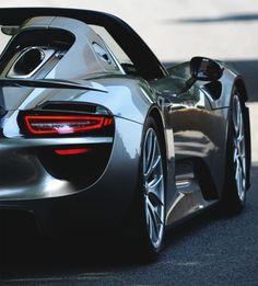 """My new """"favorite Porsche""""...the 918 spider!"""