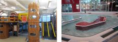 New installation of an indoor #play #structure at the #YMCA, photo of Y Play Structure, Leisure Pool
