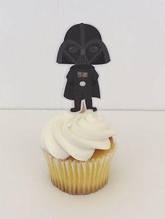 Space Wars friends cupcake toppers por DianasDen en Etsy