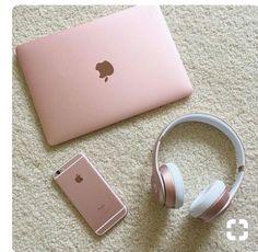 Gold everything, macbook rose gold, rose gold laptop, pink laptop, iphone 7 Pandora Bracelets, Pandora Jewelry, Pandora Rings, Silver Jewelry, Apple Iphone, Apple Laptop, Apple Ipad, Rose Gold Aesthetic, Gold Everything
