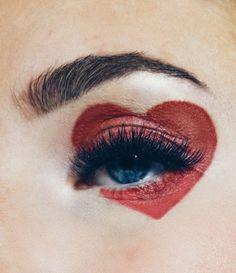 Valentinstag-Make-up-Look Shaping Pump Eyes # Valentinstag … - Schönheit Makeup Goals, Makeup Inspo, Makeup Inspiration, Beauty Makeup, Hair Makeup, Makeup Ideas, Makeup Tips, Makeup Meme, Full Makeup