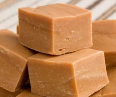 Mouth watering butter fudge, with flecks of Hershey's score bits or miniature marshmallows