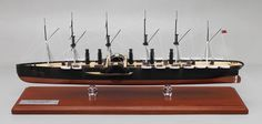 "Just off the work bench - a 1/350 scale (23.73"") replica model of the famous SS Great Eastern."