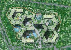 masru.com Apartment Sites, Apartment Plans, Singapore Architecture, Eco Architecture, Architecture Drawings, Rem Koolhaas, Landscape Design, Landscape Plans, Apartment Complexes