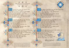 """Éalá Éarendel Engla BeorhtastAccording to Christopher Tolkien, """"there can be little doubt that… this was the first poem on th. Eala Earendel Engla Beorhtast - First poem Tolkien History Of Middle Earth, Concerning Hobbits, Lord Of The Rings, Tolkien, Lotr, The Hobbit, Poems, Fan Art, Deviantart"""