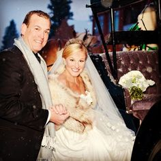 Telluride wedding #winterwedding