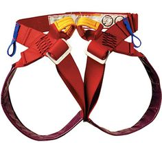 PMI Pit Viper Harness | Designed to work with the Frog chest harness. | at www.weighmyrack.com/ #rock #climbing #gear