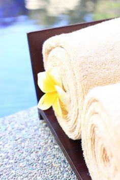 Spa towel - http://www.lagoonspaseminyak.com/