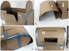 tuTORIal: Kids' DIY Mailbox: for mailing santa letters at christmas?