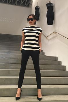 With Just 1 Photo, Victoria Beckham Proves Why This Outfit Will Always Be a Classic