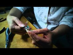 How to put the SECOND crimp on a necklace - YouTube