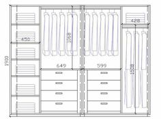 Wardrobe Closet Design Guidelines & Rules - All About Wardrobe Design Bedroom, Master Bedroom Closet, Bedroom Wardrobe, Wardrobe Closet, Modern Wardrobe, Wardrobe Basics, Bedroom Cupboard Designs, Bedroom Cupboards, Wardrobe Door Designs