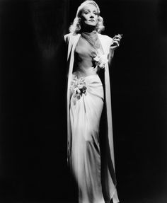 Marlene Dietrich (1901 - 1992)  The German-born American actress and singer gained international recognition with Josef von Sternberg's Blue Angel, in 1930. After being part of the 1920s Berliner scene, she went to Hollywood where she became one of the highest-paid actresses of the era.