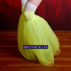 tutus, black and neon. #edm #rave #plur