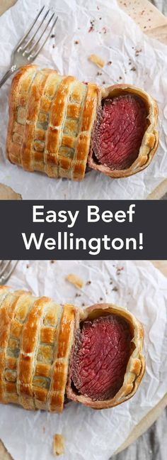 Easy Beef Wellington, by Eva in the Kitchen