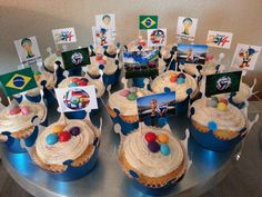 2014 Fifa World Cup Cupcakes