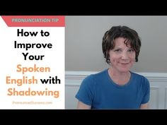 How to Improve Your English With Shadowing Improve Your English, Krishna, Improve Yourself, Acting, Have Fun, Watch, Learning, Tips, Free