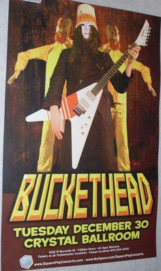 Buckethead  Poster Concert $9.84