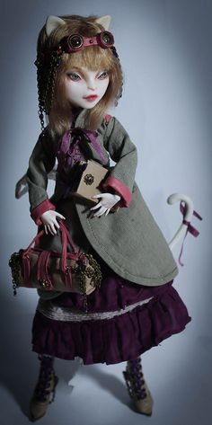 Monster High Catrine DeMew ooak by sophymolly on Flickr.