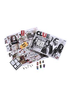 The Walking Dead Edition Clue Board Game,