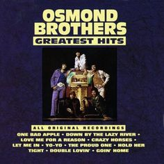 Osmond Brothers The Osmonds - Greatest Hits Album Cover