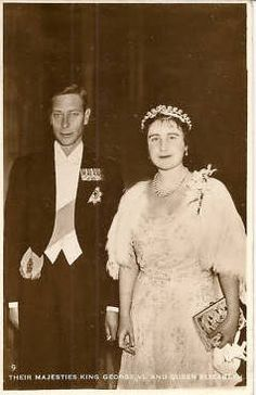 King George VI. and Queen Elizabeth of Britain