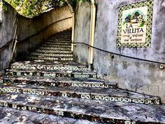 Entrance to La Villita Historic Arts Village in San Antonio, Texas.