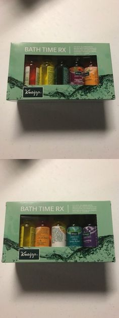 Bath Oils: Kneipp Bath Time Rx - Herbal Bath Set - 10 Bottles BUY IT NOW ONLY: $33.99