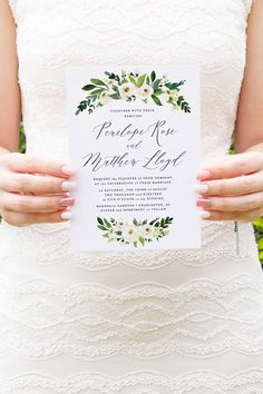 Hey, I found this really awesome Etsy listing at https://www.etsy.com/listing/579631603/wedding-invitation-template-instant