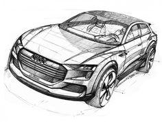 Audi h-tron quattro concept: design gallery