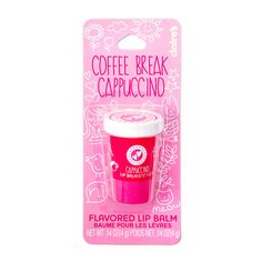 Coffee Break Cappuccino Flavored Lip Balm | Claire's