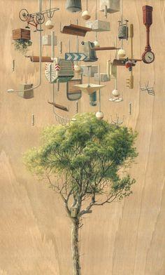 Gravity Defying Artworks By Cinta Vidal Agulló