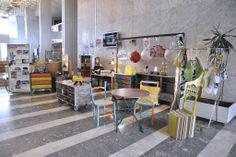 Exposition à la cité administrative de Bordeaux. Association ATELIER D'éco SOLIDAIRE.