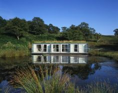 (PHOTO: )  Quirky hideaways for weekends in the country:   Sleep in a shipping container in Scotland  Steel shipping containers make surprisingly comfortable hotel rooms, as guests staying at Cove Park, a 50-acre site overlooking Loch Long on the Rosneath peninsula have discovered. Visit covepark.org.