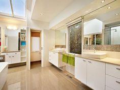 Modern bathroom design with freestanding bath using chrome - Bathroom Photo 186384