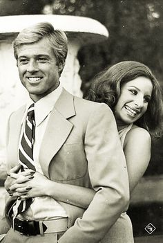 Robert Redford with Barbra Streisand..