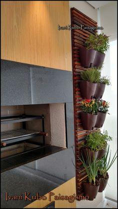 Jardim Vertical Diy, Vertical Garden Diy, Pent House, Indoor Plants, Future House, Kitchen Remodel, Orchids, Sweet Home, Interior Design