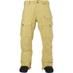 Burton Hellbrook Pant - Men's,Snowboard > Snowboard Clothing > Men's… Snowboarding Outfit, Snowboard Pants, Hiking Gear, Outdoor Gear, Khaki Pants, Camping, Clothing, Tops, Fashion