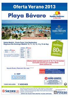 Playa Bávaro (Rep. Dominicana) 80% Grand Bahía Príncipe Bávaro (regresos Sto. Domingo-Madrid con Air Europa) salida 3 Septiembre desde Madrid - http://zocotours.com/playa-bavaro-rep-dominicana-80-grand-bahia-principe-bavaro-regresos-sto-domingo-madrid-con-air-europa-salida-3-septiembre-desde-madrid/