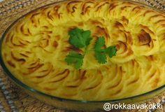 @rokkaavakokki: Yksinkertainen Shepherd's pie eli liha-perunasosel...
