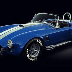 Shelby Cobra 427 - Bolt by Marc Orphanos Ac Cobra 427, Shelby Cobra Replica, Ford V8, High Level, Snake, Water, Blue, Stationery, Phone Cases