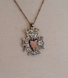 Exquisite English 1919 Solid Sterling Silver and by AudreySparrow
