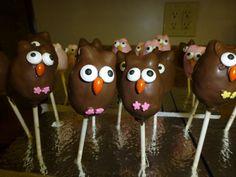 Cake Pop Owls :) ---April 2014